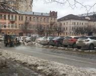 В Туле моют тротуары, Фото: 4