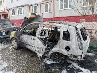 В Туле на улице Ф. Энгельса сгорел припаркованный Ford, Фото: 11