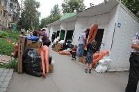 Ликвидация торговых рядов на улице Фрунзе, Фото: 22