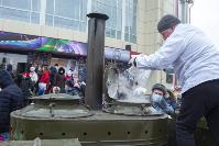 Широкая Масленица с Тульским цирком: проводы зимы прошли с аншлагом, Фото: 56