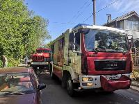 При пожаре на ул. Серебровской в Туле погибли три человека, Фото: 7