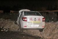 В Туле напротив кладбища «семерка» протаранила учебный Renault, Фото: 7