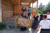 В Плеханово начали сносить дома в цыганском таборе, Фото: 115