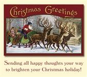 Старинные рождественские открытки, Фото: 26