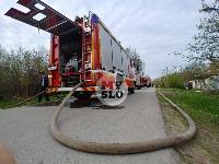 Пожар возле Тульского цирка, Фото: 3