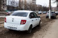 Рейд по парковкам на газонах, Фото: 15