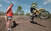 Юные мотоциклисты соревновались в мотокроссе в Новомосковске, Фото: 126