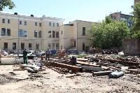 Груздев инспектирует строительство бассейна на Гоголевской. 3.08.2015, Фото: 22