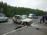 ДТП на трассе М2 Крым. 11 июля 2014 год., Фото: 2