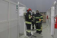 В Туле сотрудники МЧС эвакуировали госпитали госпиталь для больных коронавирусом, Фото: 33