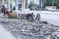 На ул. Советской меняют тротуарную плитку, Фото: 10