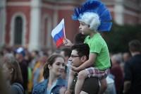 Матч Россия – Хорватия на большом экране в кремле, Фото: 71