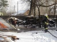 Пожар в Донском днём 29 декабря, Фото: 3