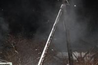 В пос. Менделеевский сгорел частный дом., Фото: 15
