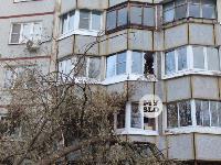 В Туле упавшее на девятиэтажку дерево повредило несколько балконов, Фото: 9