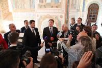 Груздев инспектирует работы в Тульском кремле. 8.09.2015, Фото: 18