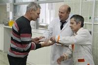 Церемония вручения знака «Почетный донор России». 30 декабря 2013, Фото: 8