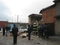Взрыв баллона с газом на Алексинском шоссе. 26 декабря 2013, Фото: 2