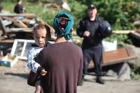 Демонтаж незаконных цыганских домов в Плеханово и Хрущево, Фото: 38