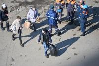 У дома, поврежденного взрывом в Ясногорске, демонтировали опасный угол стены, Фото: 35
