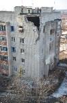 У дома, поврежденного взрывом в Ясногорске, демонтировали опасный угол стены, Фото: 50