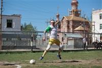 Тульские журналисты сыграли в футбол с зэками, Фото: 13
