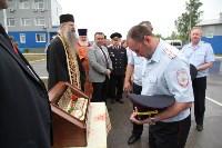 Сотрудники ОМОН поклонились мощам святого великомученика Георгия Победоносца, Фото: 24