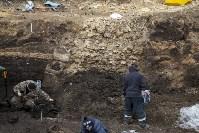 На Крестовоздвиженской площади Тулы обнаружено кладбище 18 века, Фото: 10