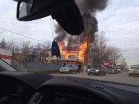 На Одоевском шоссе сгорел дом, Фото: 5
