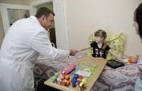 Врио губернатора Тульской области Алексей Дюмин в детской областной больнице, Фото: 2