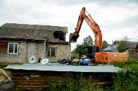 В Плеханово убирают незаконные строения, Фото: 42