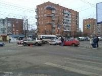 Авария в Пролетарском районе днём 17 января, Фото: 3
