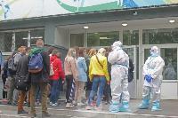 В Туле сотрудники МЧС эвакуировали госпитали госпиталь для больных коронавирусом, Фото: 59