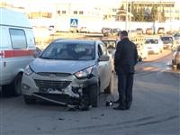 На ул.Рязянской столкнулись две иномарки, Фото: 2