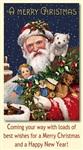Старинные рождественские открытки, Фото: 11
