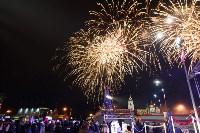 Главную ёлку Тулы открыли грандиозным фейерверком, Фото: 27