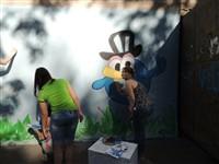 Инициатива детской изостудии «Радуга» порадовала весь район, Фото: 2