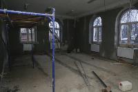 Дмитрий Миляев проверил, как идет ремонт вечерней школы на ул. Зорге, Фото: 2