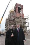 Освящение креста купола Свято-Казанского храма, Фото: 29