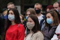 В Туле сотрудники МЧС эвакуировали госпитали госпиталь для больных коронавирусом, Фото: 8