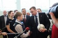 Врио губернатора Тульской области Алексей Дюмин посетил новомосковский ФОК «Мечта», Фото: 5
