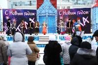 Арт-объекты на площади Ленина, 5.01.2015, Фото: 46