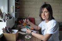 Тульская художница создает уникальные куклы из дерева, Фото: 4