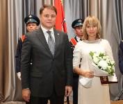 В правительстве жителям Тульской области вручили государственные и региональные награды, Фото: 9