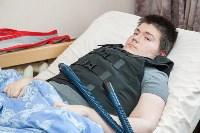 Вручение виброжилета инвалиду, Фото: 6