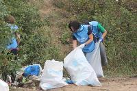 В Кондуках прошла акция «Вода России»: собрали более 500 мешков мусора, Фото: 50