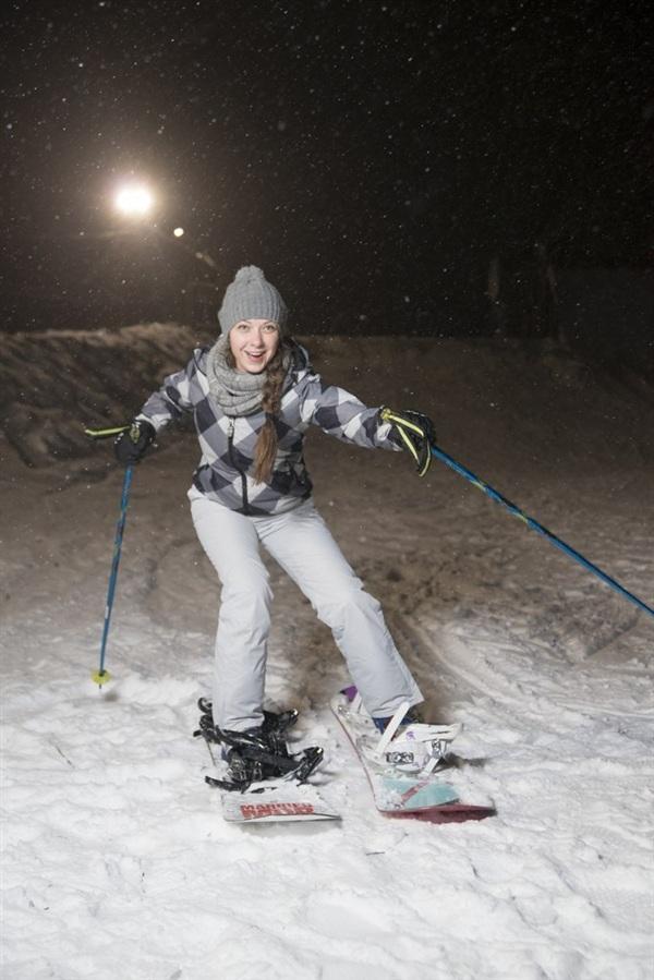 для тех кто не может выбрать между лыжами и бордом!