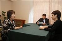 Владимир Груздев с визитом в Алексин. 29 октября 2013, Фото: 2