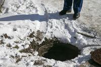 В Туле подвал дома неделю был затоплен канализацией, Фото: 5