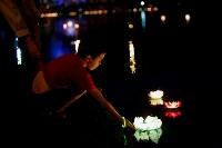 Фестиваль водных фонариков., Фото: 2
